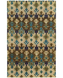 Home  Jamison 53308 Beige/Blue Area Rug
