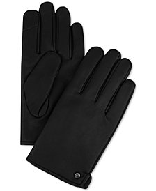 Calvin Klein Men's Side-Vent Gloves