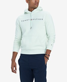 Tommy Hilfiger Men's Lock Up Logo Hoodie