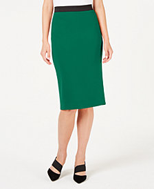 Alfani Below-Knee Pencil Skirt, Created for Macy's
