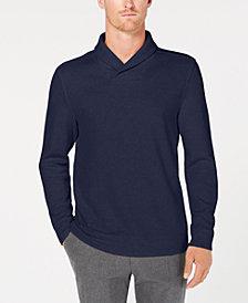 Tasso Elba Men's Shawl-Collar Pullover Sweater, Created for Macy's