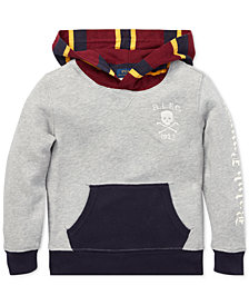 Polo Ralph Lauren Toddler Boys Colorblocked Fleece Hoodie