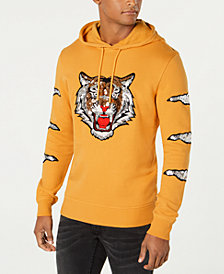 I.N.C. Men's Rawr Sequin Tiger Hoodie, Created for Macy's