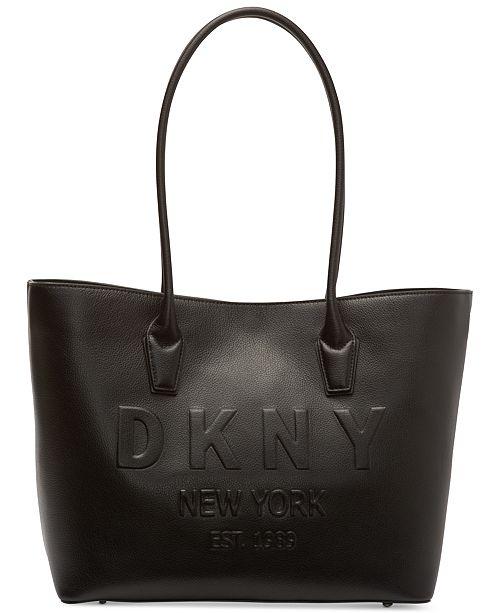b4628692c DKNY Hutton Logo Tote, Created for Macy's & Reviews - Handbags ...