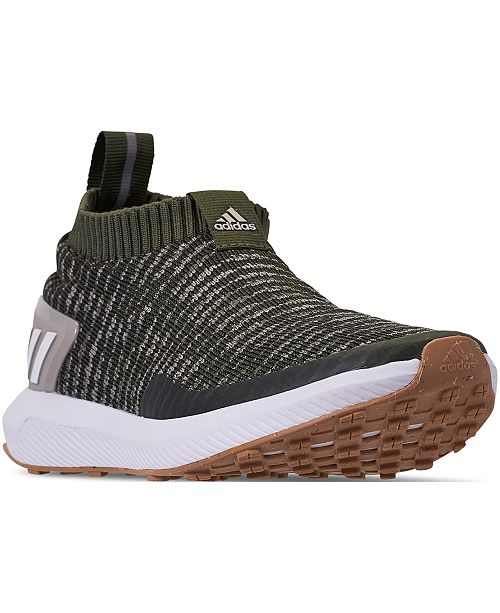 f94676bc53d adidas Boys  RapidaRun Laceless Running Sneakers from Finish Line ...