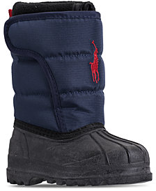 Polo Ralph Lauren Toddler Boys' Hamilten II EZ Boots from Finish Line