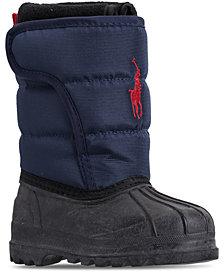 Polo Ralph Lauren Toddler Boys' Hamilten II EZ Boots from Finish Line