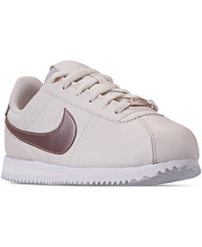 Nike Girls' Cortez Basic SL Casual Sneakers from Finish Line