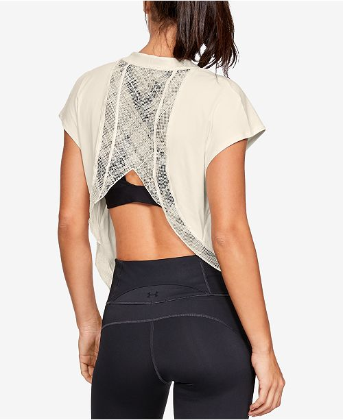 Under Armour Misty Copeland Lace-Back T-Shirt