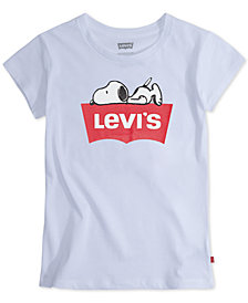 Levi's® Big Girls Sleepy Snoopy T-Shirt