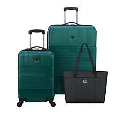Delsey Groove DLX 3-Pc. Luggage Set
