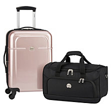 CLOSEOUT! Delsey Air Quest Carry-On Spinner w/ BONUS Duffel Bag