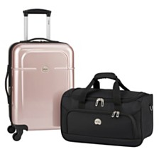 77497cdb70 Delsey Air Quest Carry-On Spinner with Bonus Duffel