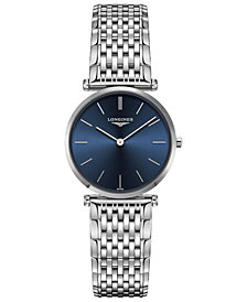 Longines Women's Swiss La Grande Classique de Longines Stainless Steel Bracelet Watch 29mm
