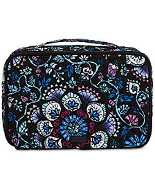 Vera Bradley Iconic Blush & Brush Case