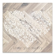 Love You Madly Wood/MDF Box