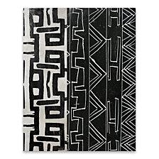 Graphic Tribal Black White Wood, MDF Box