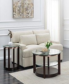 Benton 2 Piece Occasional Table Set-Coffee Table and End Table