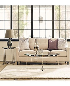 Sophia 2 Piece Occasional Table Set-Coffee Table and End Table