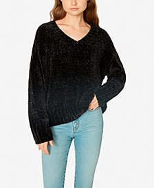 Sanctuary Chenille V-Neck Pullover Sweater, Created for Macy's
