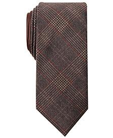 Tallia Men's Quincy Slim Plaid Tie