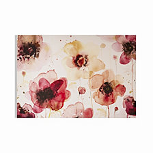 Graham & Brown Painterly Blossoms Printed Canvas