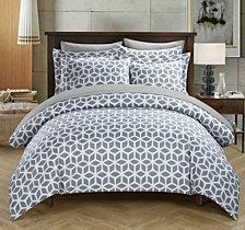 Chic Home Elizabeth 9-Pc. Duvet Sets