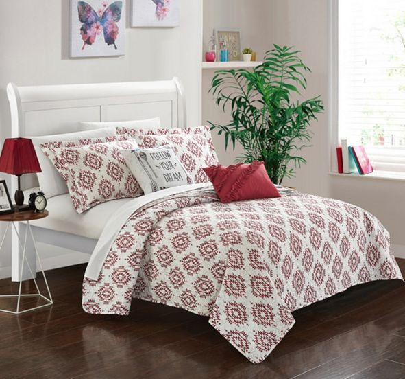 Chic Home Jaden 7 Pc Twin Quilt Set