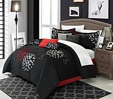 Cheila 12 Pc King Comforter Set