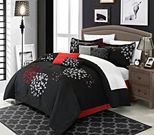 Chic Home Cheila 12 Pc Comforter Set Collection