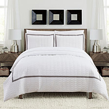 Chic Home Faige 7 Pc Queen Duvet Set