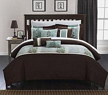 Chic Home Evan 12 Pc Queen Comforter Set
