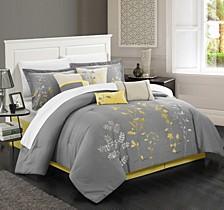 Bliss Garden 12 Pc Queen Comforter Set