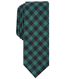 Penguin Men's Freeman Skinny Check Tie