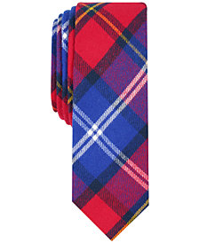 Penguin Men's Warren Skinny Plaid Tie