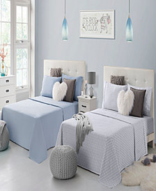 Rampage Mix Match Solid and Print Double Full Sheet Sets