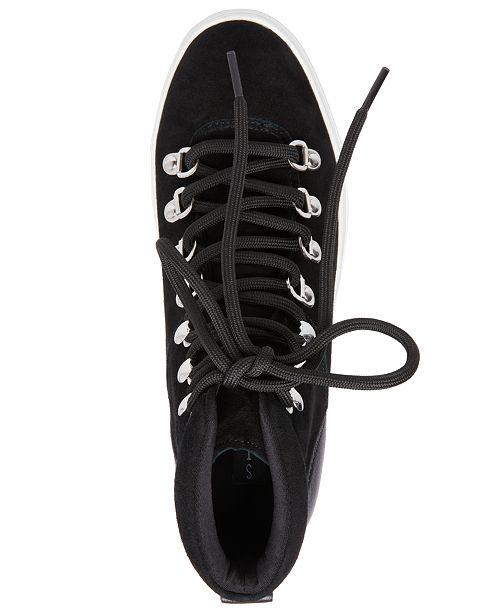dde63cbee3d ... STEVEN by Steve Madden Women s Kalea Lace-Up Hiker Sneakers ...
