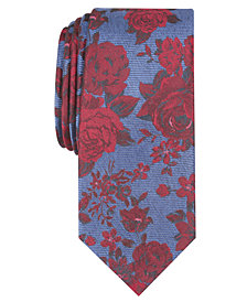 Bar III Men's Thalia Floral Skinny Tie, Created for Macy's
