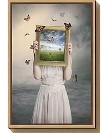 Amanti Art Set them free by Baden Bowen Canvas Framed Art
