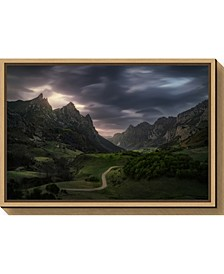Valle de Lago V by Juan Pablo de Canvas Framed Art