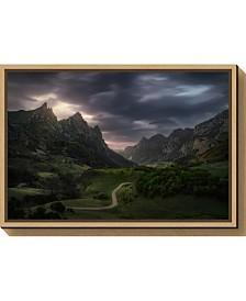 Amanti Art Valle de Lago V by Juan Pablo de Canvas Framed Art