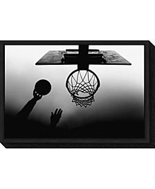 nt Basketball Net by Paulo Medeiros Canvas Framed Art
