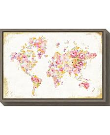 Midsummer World by Danhui Nai Canvas Framed Art