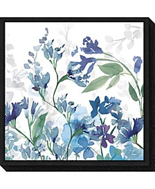 Colors of the Garden III Cool Shadows Canvas Framed Art