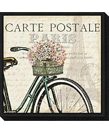 Amanti Art Paris Ride I by Pela Studio Canvas Framed Art