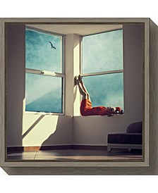 room with a view by Ambra Canvas Framed Art