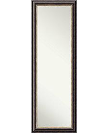 Amanti Art Tuscan Rustic 18x52 On The Door/Wall Mirror
