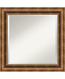 Amanti Art Intaglio Antique 25x25 Wall Mirror