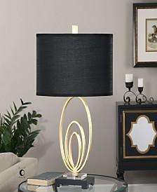 Uttermost Trigolo Bright Gold Lamp