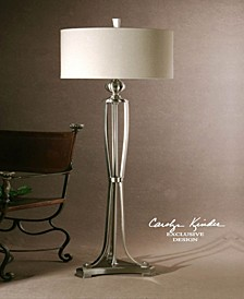 Tristana Nickel Floor Lamp